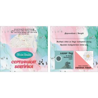 Дизайн полиграфии для турецкой компании Silvia Dream