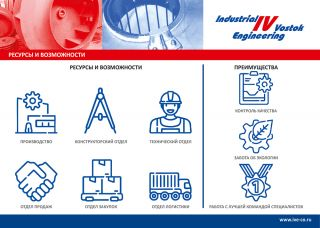 Дизайн презентации для компании Индастриал Восток Инжиниринг